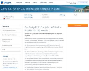 J&T Banka Homepage